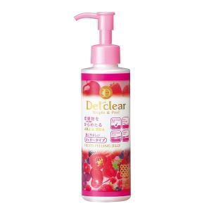 DETクリア ブライト&ピール ピーリングジェリー ミックスベリーの香り 180mL 明色化粧品