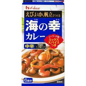 ハウス食品 海の幸カレー 中辛 120g 1食