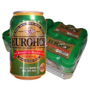 ユーロホップ 缶 ベルギー産新ジャンル 330ml 1ケース(24缶入)|y-lohaco