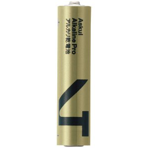 アスクル ハイパワーアルカリ乾電池PRO 単4形 LR03PRMI(4S)ASK 1パック(4本入)