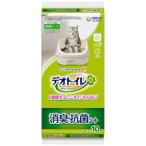 デオトイレ 1週間消臭・抗菌シート 10枚 ユニ・チャーム|y-lohaco