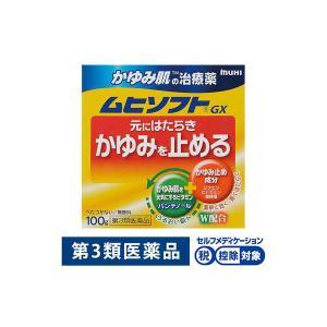 ムヒソフトGX 100g 池田模範堂 かゆみ止め 乾燥肌 第3類医薬品