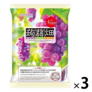 マンナンライフ 蒟蒻畑 ぶどう味 844023 1セット(3袋)|y-lohaco