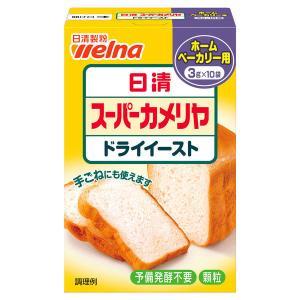 日清フーズ スーパーカメリヤ ドライイースト(HB用) 334040 1個(3g×10袋)