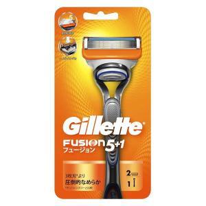 ジレット フュージョン5+1 髭剃り 本体 替刃2個付 P&G