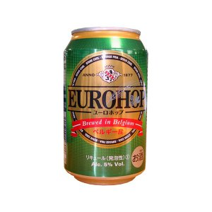ユーロホップ 缶 ベルギー産新ジャンル 330ml 1セット(1本×6)|y-lohaco|03