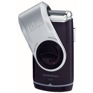 シェーバー ブラウン モバイルシェーブ M-90 携帯用 メンズ 1枚刃 まるごと水洗い 1台 P&...