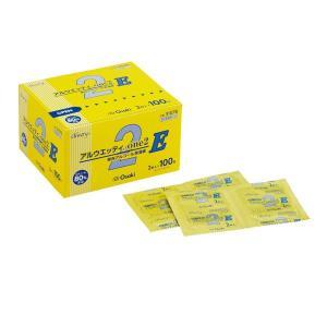 オオサキメディカル アルウェッティone2-E 1箱(2枚入×100包) 00031078 y-lohaco