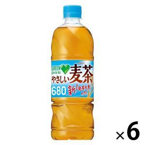 サントリー GREEN DA・KA・RA(グリーンダカラ)やさしい麦茶 650ml 1セット(6本)