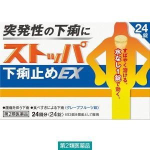 第2類医薬品ストッパ下痢止めEX 24錠 ライオン