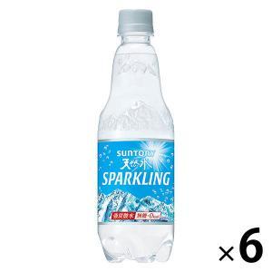 炭酸水 サントリーフーズ 南アルプス スパークリング 500ml 1セット(6本)