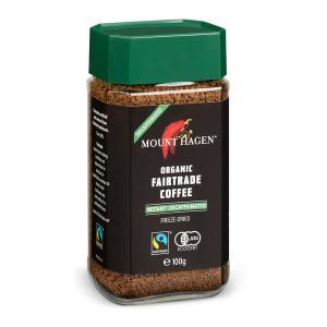 インスタントコーヒー マウントハーゲン オーガニック カフェインレスコーヒー 1本(100g) 瓶