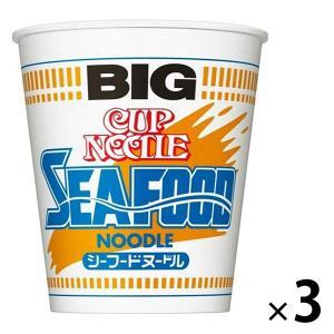 日清食品 カップヌードル シーフード ビッグ 25003 1セット(3食)