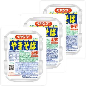 まるか商事 ペヤング ソースやきそば 120g 1セット(3食)