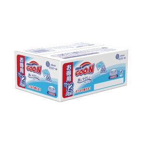 グーン 肌にやさしいおしりふき 詰替 1パック(840枚:70枚入×12個) 大王製紙