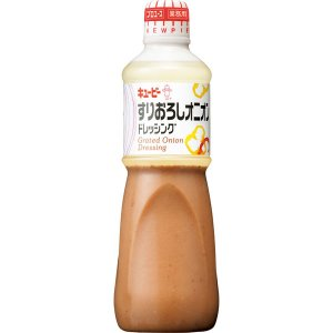 キユーピー すりおろしオニオンドレッシング(業務用) 1L