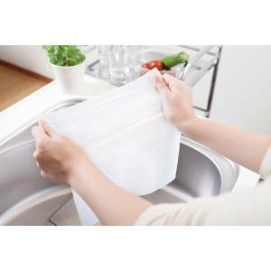 キッチンペーパー 不織布 61カット スコッティファイン 洗って使えるペーパータオル 1ロール 日本製紙クレシア|y-lohaco|04