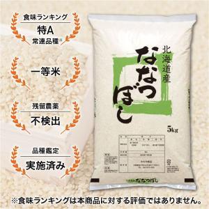 精白米北海道産 ななつぼし 5kg 平成29年産...
