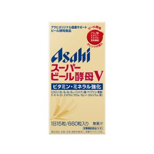 スーパービール酵母V660粒 アサヒグループ食品 サプリメント|y-lohaco