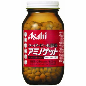スーパービール酵母アミノゲット 1個(600粒入) アサヒグループ食品 サプリメント|y-lohaco