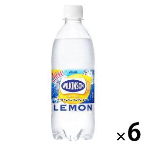 アサヒ飲料 WILKINSON(ウィルキンソン) タンサン レモン 500ml 1セット(6本)