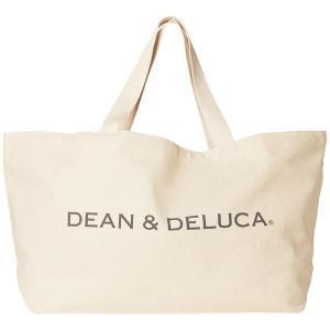DEAN&DELUCA(ディーンアンドデルーカ) ビッグトートバッグ ナチュラル 1個|y-lohaco