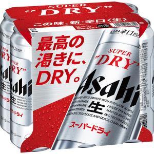 アサヒ スーパードライ 500ml 1パック(6缶入)