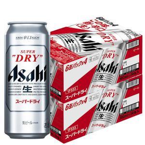 アサヒスーパードライ 500ml 1セット(48缶) アサヒビール|y-lohaco