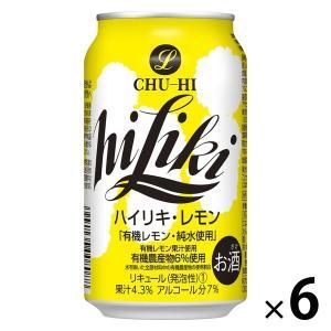 アサヒビール ハイリキ レモン 350ml×6缶|y-lohaco