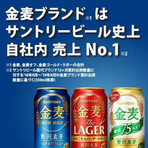 サントリー 金麦 糖質75%オフ 350ml 1箱24缶入|y-lohaco|03