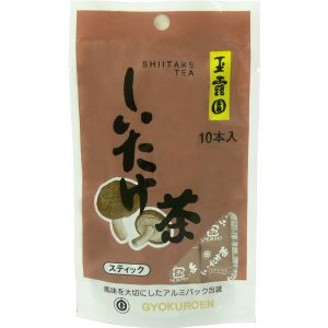 玉露園 しいたけ茶スティック 1袋(10本入)