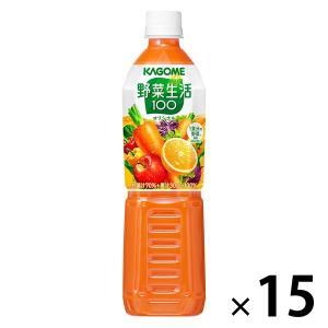 カゴメ 野菜生活100オリジナル スマートPET 720ml 1箱(15本入) 野菜ジュース LOHACO PayPayモール店