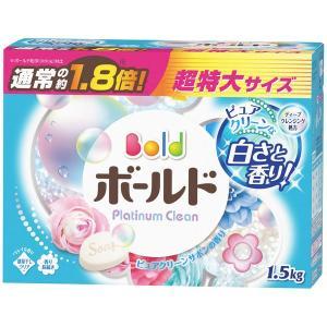 ボールド プラチナクリーン ピュアクリーンサボンの香り 1.5kg 1個 粉末洗剤 P&G y-lohaco