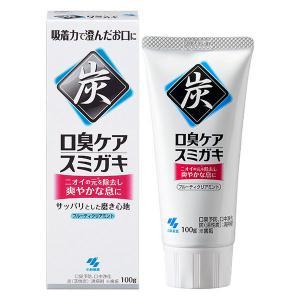 スミガキ 炭配合(清掃剤) 口臭予防 歯みがき ハーブミント...