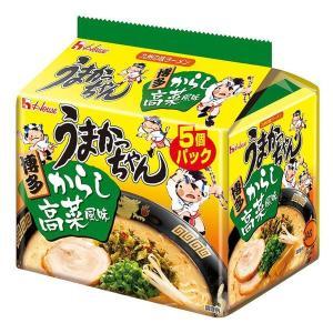 ハウス食品 うまかっちゃん 博多からし高菜風味 1パック(5食入)|y-lohaco