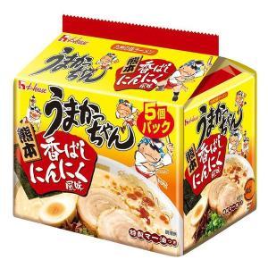 ハウス食品 うまかっちゃん 熊本火の国流とんこつ 1パック(5食入)|y-lohaco