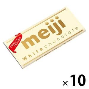 明治 ホワイトチョコレート 10枚