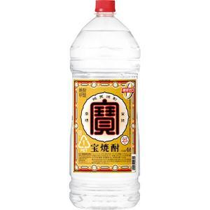 【甲類焼酎】宝酒蔵 宝焼酎 25度 宝 4Lエコペット×1本