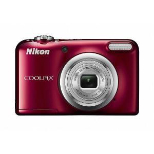 デジタルカメラ ニコン デジタルカメラ「COOLPIX」A10 SDカードセット A10レッドSET...