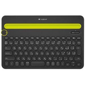ロジクール(Logicool) Bluetooth対応マルチデバイス キーボード K480 ブラック...