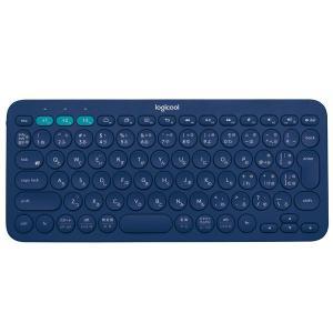 ロジクール(Logicool) Bluetooth対応マルチデバイスキーボード K380 ブルー パ...