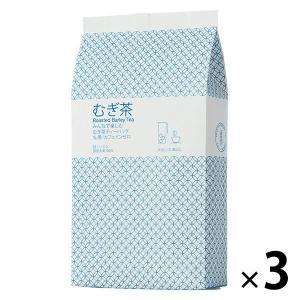 小谷穀粉 みんなで楽しむむぎ茶ティーバッグ1L用 1セット(52バッグ入×3袋)|y-lohaco