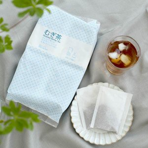 小谷穀粉 みんなで楽しむむぎ茶ティーバッグ1L用 1セット(52バッグ入×3袋)|y-lohaco|05