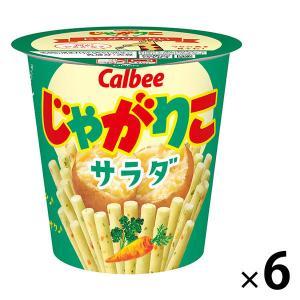 カルビー じゃがりこサラダ 60g 1セット(6個)|y-lohaco