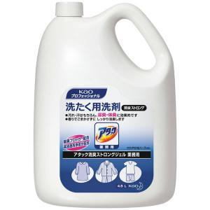 アタック 消臭ストロングジェル 業務用 4kg 1個 衣料用洗剤 花王