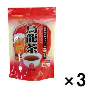 アウトレットお茶の丸幸 烏龍茶ティーバッグ  1セット(120包:40包×3袋)|y-lohaco