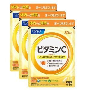 ビタミンC 徳用タイプ 約90日分(1袋(90粒)×3) ファンケル サプリメント|y-lohaco