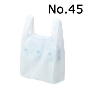 アスクル レジ袋(乳白) 45号 幅300mm×マチ140mm×縦530mm 1セット(300枚:100枚×3袋)|LOHACO PayPayモール店