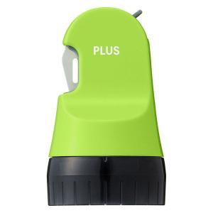プラス ローラーケシポン 箱用オープナー グリーン 個人情報保護スタンプ 26mm×30M(500回分) 40979|LOHACO PayPayモール店