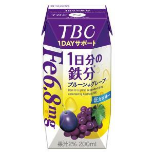 【セール】森永乳業 TBC鉄分 200ml 1箱(24本入)|LOHACO PayPayモール店